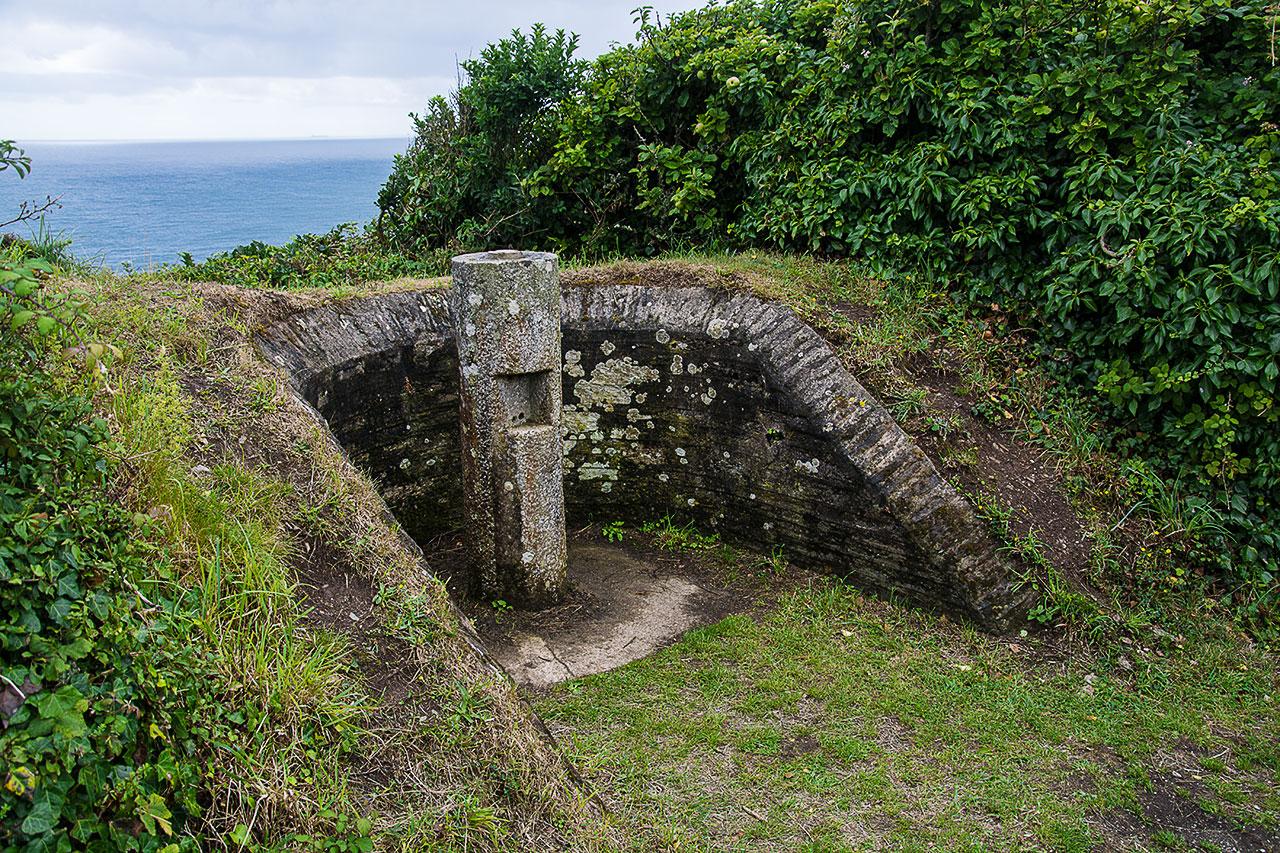 Roseland Peninsula - Wehranlage aus dem 2. Weltkrieg